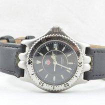 TAG Heuer Professional Sel Herren Uhr Stahl Rar Vintage Wg1218...