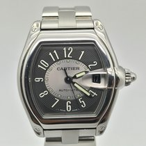 Cartier Roadster Stainless Steel Automatic Large Mens Watch...