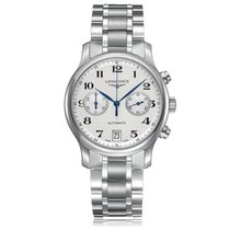 Longines Master Collection Automatic Stainless Steel Silver...