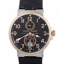 Ulysse Nardin 265-66-BLACK Maxi Marine Chronometer Two Tone...