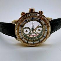 Quinting Chronograph Baguette Diamond Set