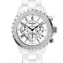 Chanel J12  Chronograph Diamond Bezel