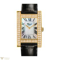 Chopard Your Hour YG Diamonds Leather Ladies Watch