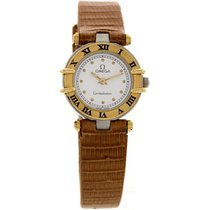 Omega Ladies Omega Constellation SS/18k Yellow Gold 5950102