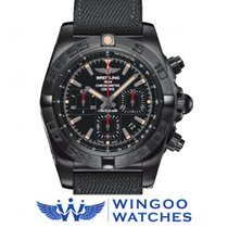 Breitling CHRONOMAT 44 BLACKSTEEL Ref. MB0111C3/BE35/253S/M20D...