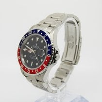 Rolex GMT Master II 16710 PEPSI RECTANGULAR DIAL Box and Papers