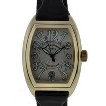 Franck Muller Conquistador 18kt Yellow Gold With Silver Dial...