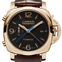 Panerai LUMINOR 1950 3 DAYS CHRONO FLYBACK ORO ROSSO PAM 525