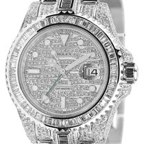 Rolex GMT-Master ll White Gold ICE Fully Diamond Set