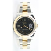 Rolex Datejust II 116333 Stainless Steel & 18K Gold Oyster...