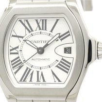 Cartier Polished Cartier Roadstar S Lm Steel Automatic Mens...