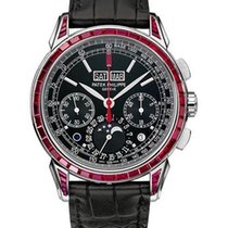 Patek Philippe Perpetual Calendar Chronograph  Red Baguette...