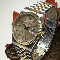 Rolex Date Just Stahl Gold