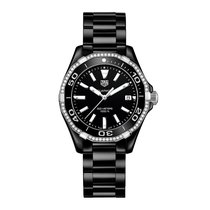 TAG Heuer Aquaracer 35mm Date Quartz Ladies Watch Ref WAY1395....