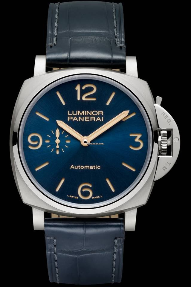 with luminor watches watch product titiano for panerai dial days brown