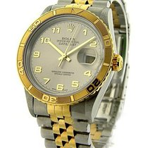 Rolex Used 16263_Turn_ara_used 2-Tone Thunderbird Datejust -...
