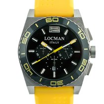 Locman Stealth 021200KY-BKKSIY Chronograph Quarz Men's Watch