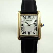 Cartier Tank classic 18k yellow gold Paris dates 1990's