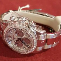 Rolex 116576 TBR Oyster Perpetual Cosmograph Daytona Diamond Pave