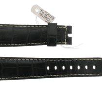 Μπρεγκέ (Breguet) Leather Alligator Black Strap 22/17