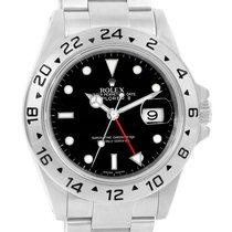 ロレックス (Rolex) Explorer Ii Black Dial Stainless Steel Mens...