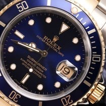 Rolex Mens Rolex 2tone 18k Yellow Gold & Ss Submariner...