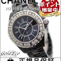 Chanel 【超美品】CHANEL【シャネル】 J12 33mm ベゼルラージダイヤ レディース腕時計【中古】 H1173...