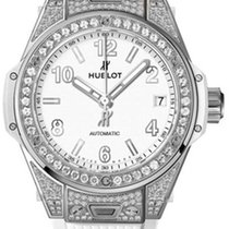 Hublot Big Bang One Click 39mm Steel White Pavé