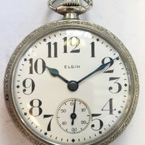 Elgin Pocket Watch with Inlaid Train on the case - USA ,1926s