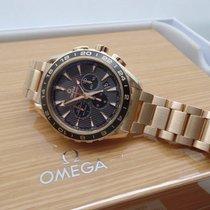 Omega GMT Seamaster  Chrono Rose Gold