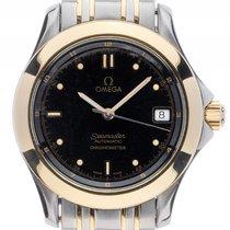 Omega Seamaster Stahl 18kt Gelbgold Automatik Chronometer...