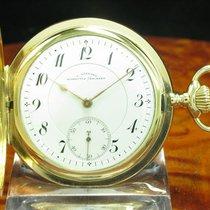 J. Assmann 14kt 585 Gold Savonette Sprungdeckel Taschenuhr