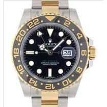 Rolex Gmt II 116713ln Steel, Yellow Gold, 40mm