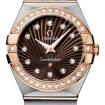 Omega 123.25.27.60.63.001 Constellation 95 Ladys in 2-Tone w/...
