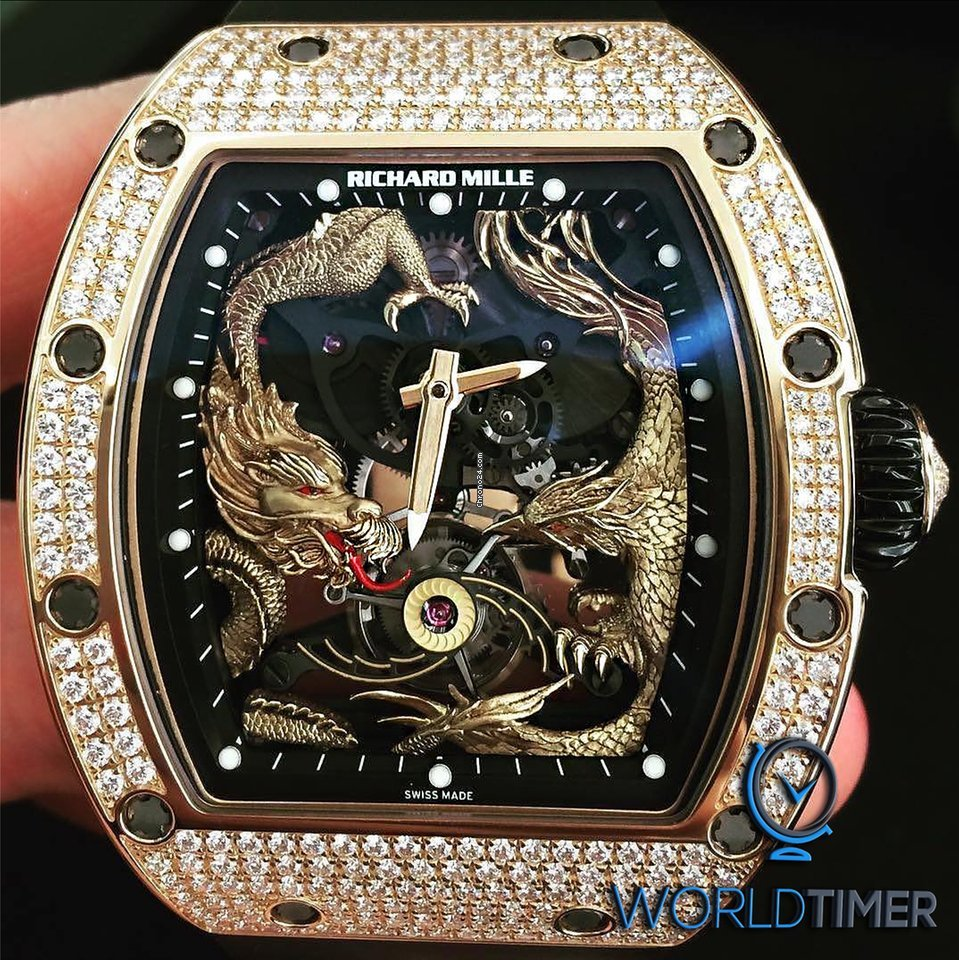 Richard Mille Ltd New Rm 57 01 Phoenix And Dragon Jackie Chan For