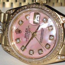 Rolex Datejust President 18K Solid Yellow Gold Diamonds
