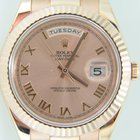 Rolex Day-Date II President rose gold41mm,Rose dial