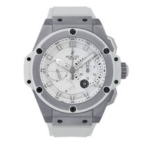 ウブロ (Hublot) King Power Zirconium Chronograph White Rubber