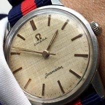 오메가 (Omega) Stunning Omega Seamaster Watch with Linen dial