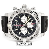 Breitling Chronomat GMT Black Dial 47mm AB0413B9BD17154S