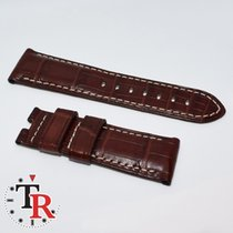 Panerai 44 Crocodile Red Bordeaux for folding clasp