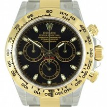 Rolex Cosmograph Daytona 116503 Black Index Tachymetre Yellow...