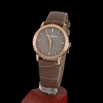 Vacheron Constantin Traditionnelle Rose Gold Quartz Lady