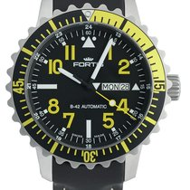 Fortis Aquatis Marinemaster Day/Date Yellow 670.24.14 L.01