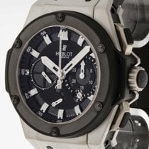 Hublot King Power Zirconium Split Second Power Reserve Chrono...