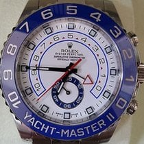 Rolex Yacht-master Ii 116680 Stainless 44mm New Model Box...