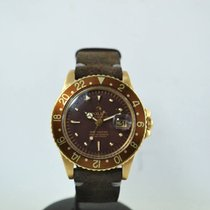 Ρολεξ (Rolex) GMT-Master 1675 Gold  Nipple Dial Puncher Paper