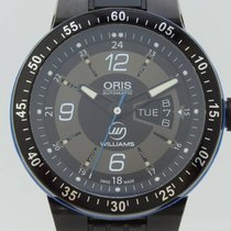 Oris Williams F1 Team Day Date 7364 Automatic Steel Black DLC