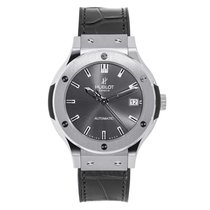 Hublot Classic Fusion 38mm Titanium Racing Grey Watch