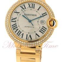 Cartier Ballon Bleu Large Automatic, Silver Dial, Diamond...